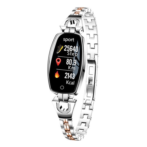 Waterproof Fitness Activity Tracker with Heart Rate Monitor, Wearable Oxygen Blood Pressure Wrist Watch, Bluetooth Running GPS Tracker Band