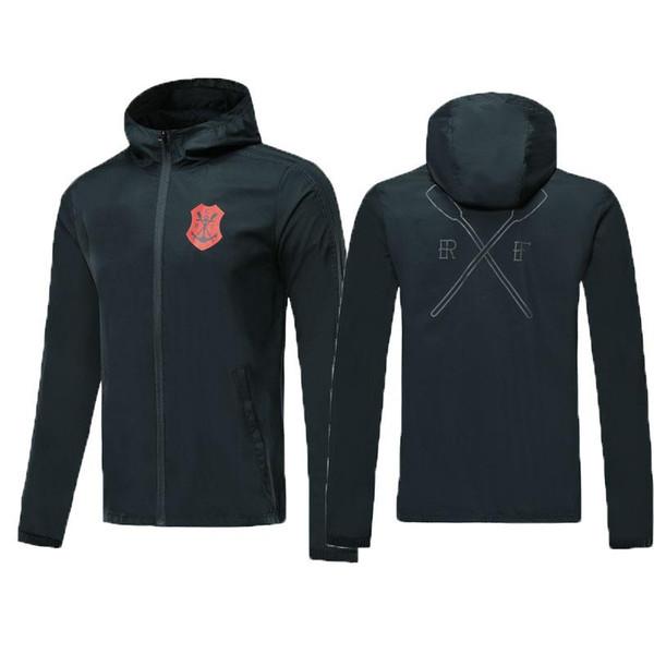 Best quality 2019 2020 Chandal Flamengo home jacket Training suit soccer Jersey Brasil Flemish flamengo DIEGO GUERRERO football shirts