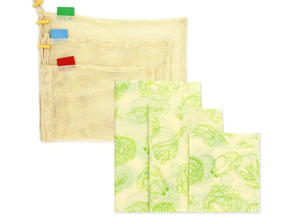 3 * Bienenwachs clothstorage bag-style 5