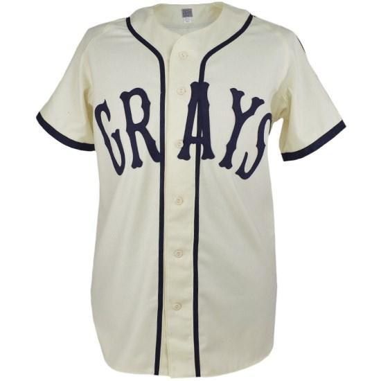 CUSTOM Josh Gibson Herdade Grays Negro Liga Baseball Jersey Novo 20 Ponto Costurado Qualquer Nome Qualquer Número
