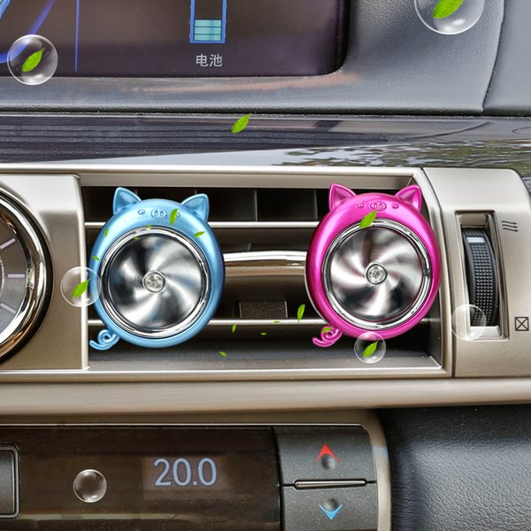 Car Perfume Air Outlet Clip Auto Decoration Piggy Shape Air Freshener Auto Accessories Car Ornament Car-styling
