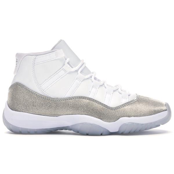 No.2-Blanco metálico de plata