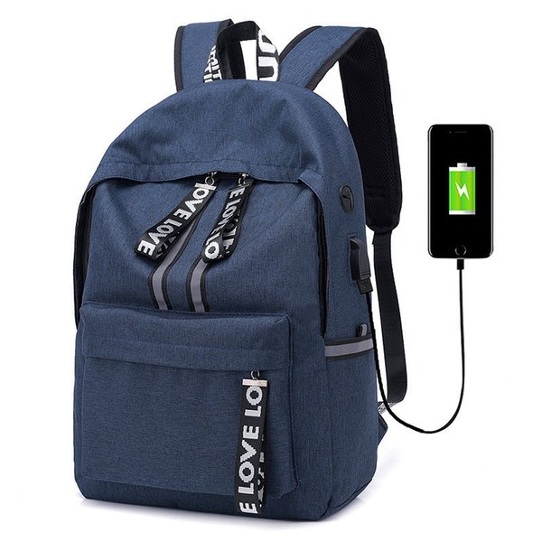 Large Capacity Laptop Usb Charging Backpacks Men Women Business Backpack Bag For College School Backpack Escolar Mochila