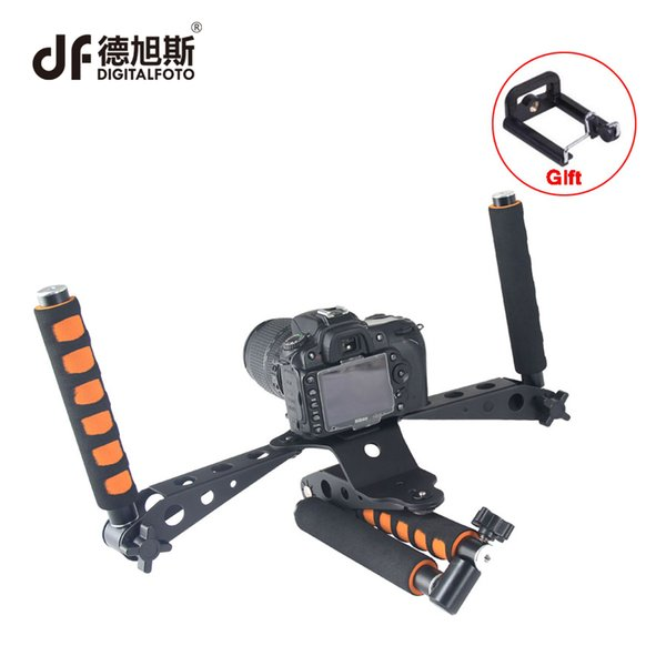 Freeshipping rigs shoulder mount handle rig stabilizer steadicam steadycam for shooting movie video filmmaking DSLR camera