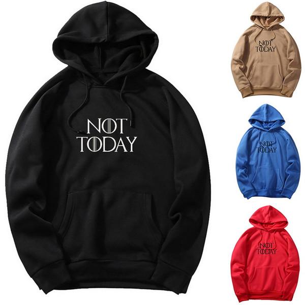 Moda-2019 Nueva Primavera Moda otoño sudaderas Hombre de gran tamaño caliente Fleece Casual Male Brand no hoy Hoodies