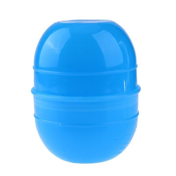 Small Size Blue Hair Dye Cup Double Scale Coloring Mixing Suction Bowl Salon Hair Styling Tool Hair Color Mixing Bowl SH190729