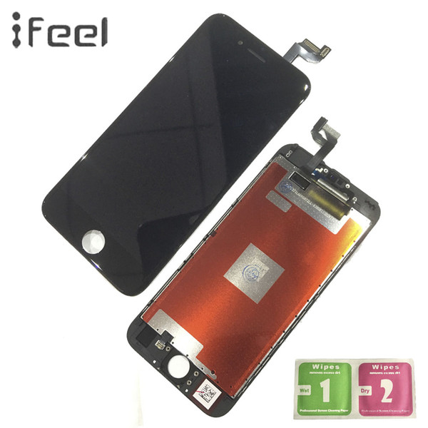Ifele 10 peças / lotes para iphone 6 6 s 6 plus 6 s plus display lcd + touch screen digitador frete grátis display lcd