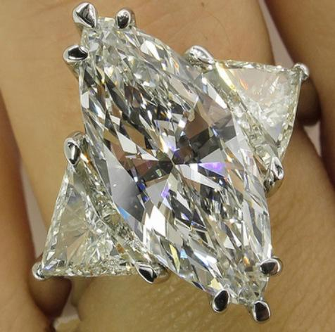 Argent 925 Cubique Zircone Cristal Moissanite Diamant Infini Promesse Anneaux pour Femmes goutte d'eau 5 Anneaux De Bijoux De Mariée