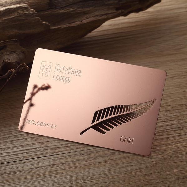 Großhandel 100 Teile Los Hohe Qualität Laser Cut Gravierte Rose Gold Metall Visitenkarten Von Hellen8599 165 83 Auf De Dhgate Com Dhgate