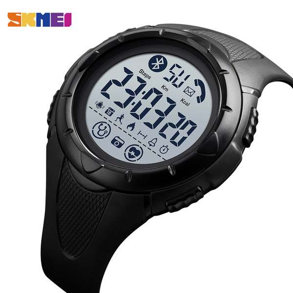 Мужские смарт-часы Марка SKMEI цифровые часы пульс сна монитор Smartwatch водонепроницаемый наручные часы Android мужские часы
