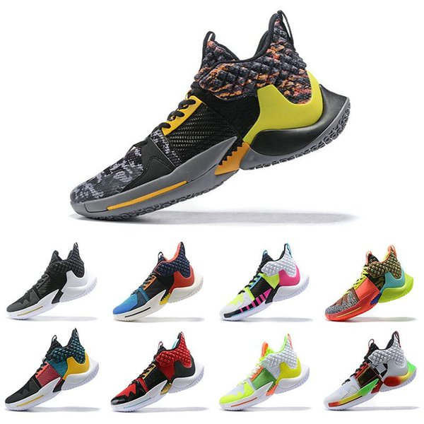 Nuove scarpe da basket di lusso Russell Westbrook Why Not Zer0.2 Game.set.match. Sneakers uomo Sneakers Zero2 Scarpe da ginnastica originali Taglia 40-46