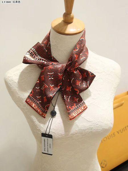 mayor de seda bufandas bolsos de la venda del pelo hombres y mujeres de moda banda decorativa bolsa de delicada seda estampado floral bufandas