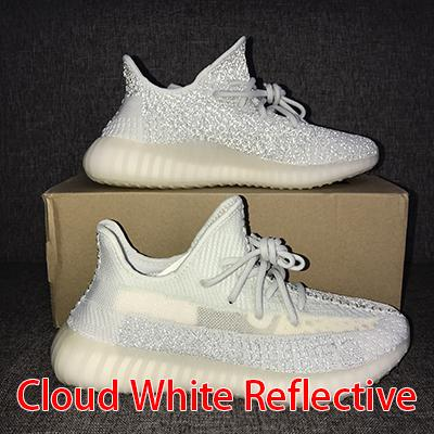 Clond White Reflective