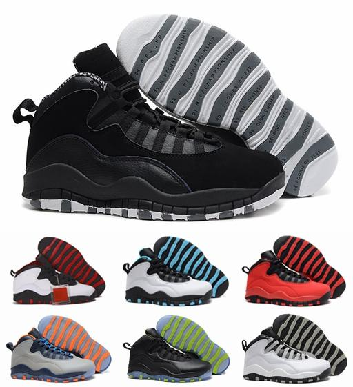 2018 Men Basketball Shoes 10s Red White Black retro Gray Orange Mens Trainers 10 Sports Sneakers Chaussures Size 40-47