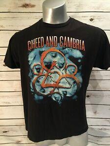 Coheed ve Cambria Albüm Kapağı Turu T-Shirt Progressive Alternatif RoHip hop Bandı