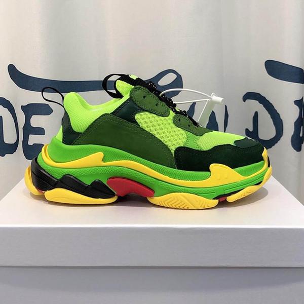 triple s sneakers Superstars mans shoes Damen Herren Designer Schuhe 35 Farbe haben schwarze Turnschuhe Größe 35-45 Modell ZX11