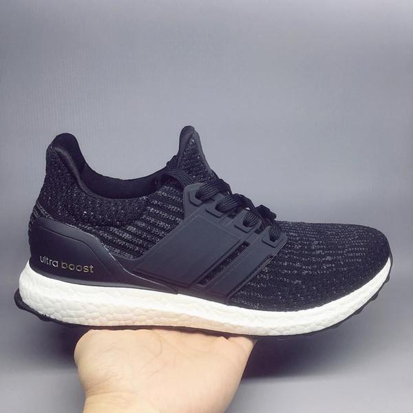 super popular 49d92 a9322 Ultra Boost 3.0 4.0 Casual Shoes Men'S Ladies High Quality UltraBoost 3  Primeknit Jogging White Black Sports Shoes Eur 36 46 Skechers Shoes Mens  Dress ...