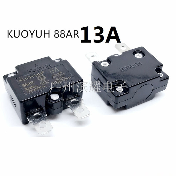 best selling Taiwan KUOYUH 88AR-13A Overcurrent Protector Overload Switch Automatic Reset
