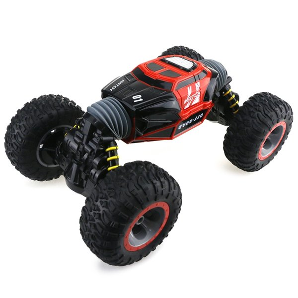 1/16 Double-sided 4WD RC Stunt Car with Remote Controller for Fun Drive Bigfoot Car Remote Control Model Off-Road Vehicle RC Car