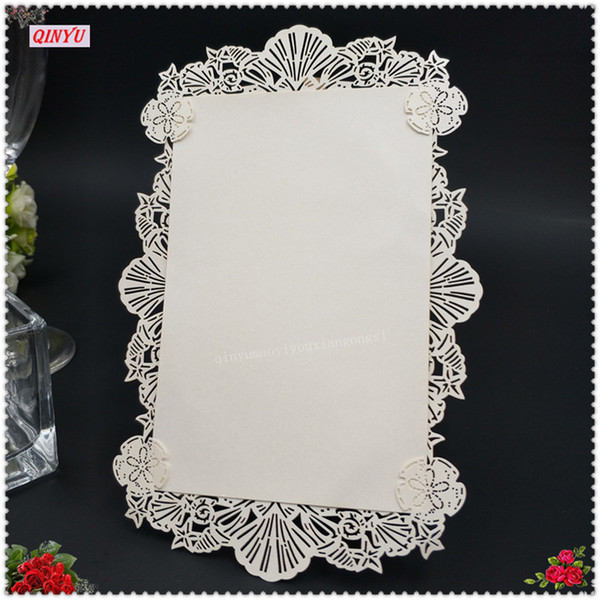 Hollow Lacework Laser Cut Place Name Card Wedding Business Party Dinner Invitation Card 5zsh881 100 Unique Birthday Cards Unique Greeting Cards From