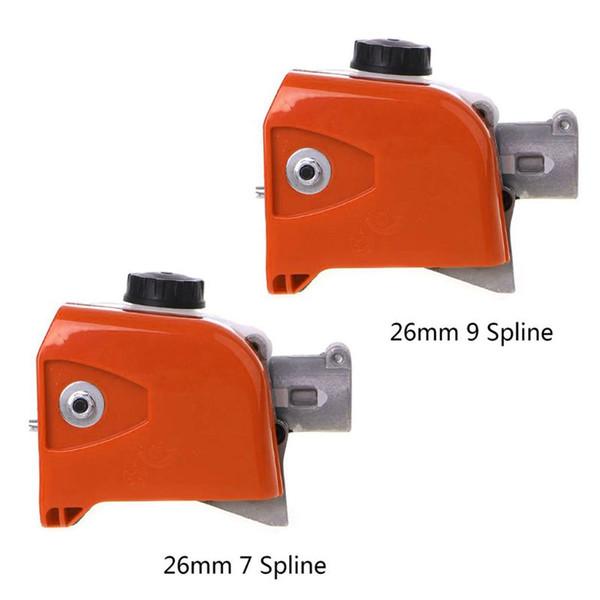 9 Spline 26mm Getriebe Getriebekopf für Rasenmäher Rasentrimmer Trimmer