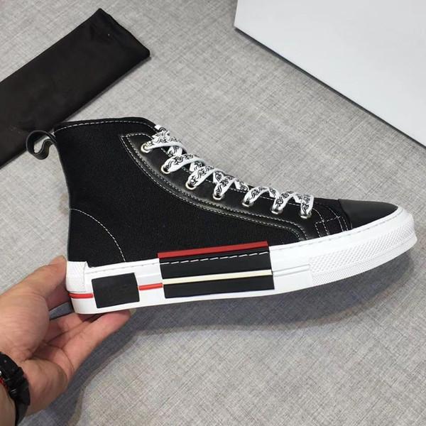 Zapatillas de diseñador de lujo superiores Zapatillas de deporte para hombre para mujer Zapatos de plataforma de cuero blanco Zapatos de boda de fiesta casuales planos Suede Sports Sneake RD 38-44 03