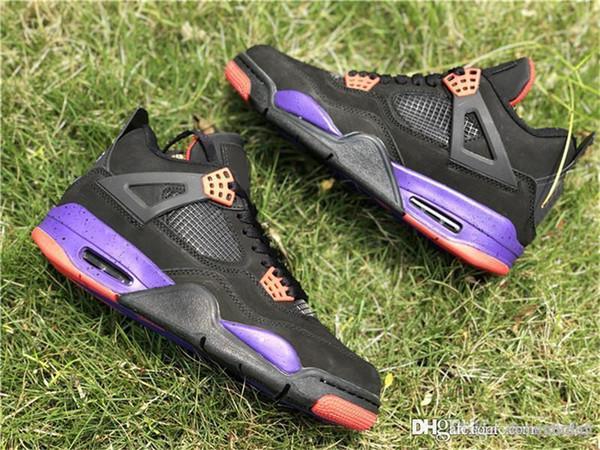 Próximamente 4 Raptor 4Raptors Drake NRG 4S IV Zapatillas de baloncesto para hombres Negro Púrpura Rojo AQ3816-056 Calidad auténtica con caja original 40-47