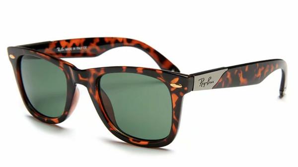 Siyahımsı yeşil Lens Güneş Gözlüğü Ünlü Tasarım Womens Popüler Güneş gözlükleri Pilotlar Oval Gözlük 2157