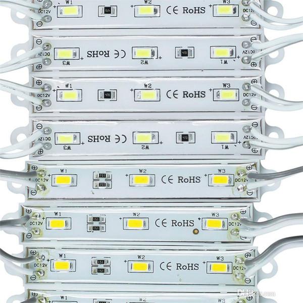 DHL LED ışık modülü, su geçirmez superbright SMD5630 LED ışık modülü, Soğuk Beyaz / Sıcak Beyaz / Kırmızı / Sarı / Mavi / Yeşil, DC12