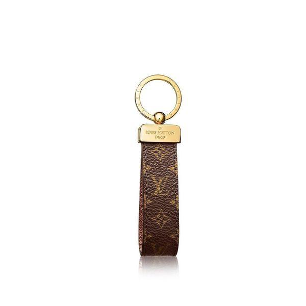 M65221 DRAGONNE KEYCHAIN Holders More Leather Bracelets Chromatic Bag Charm and Key Holder Scarves Belts Gift