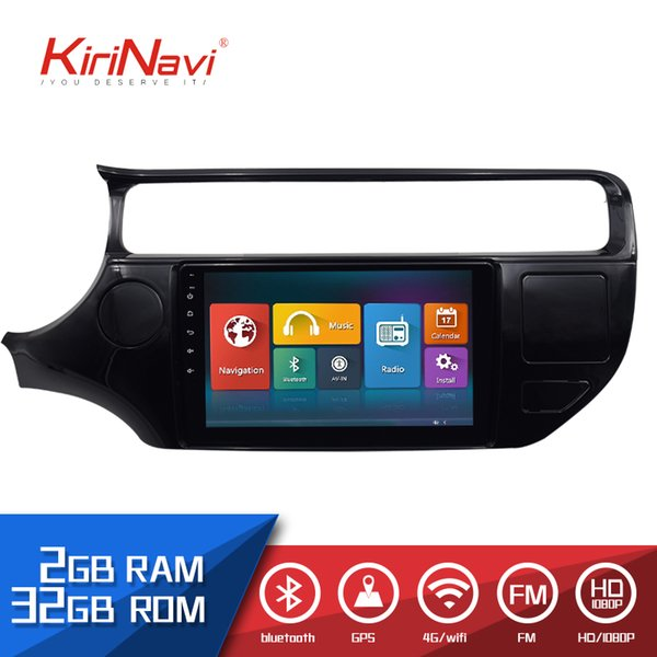 Kirinavi 2 Din automobile Radio HD Touch screen for KIA Rio android car audio Auto dvd player multimedia system Bluetooth