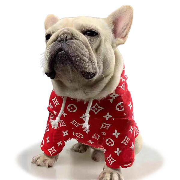 Щенок Классический Ткань рубашки моды собаки вскользь толстовки игрушечный щенок Одежда Осень Повседневная Outwears Одежда для питомцев