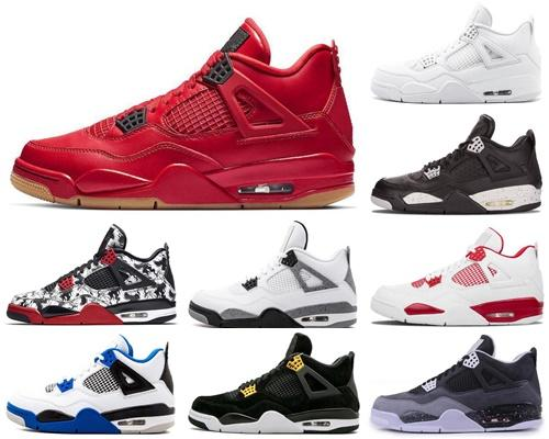 4s Black Game Royal Men basketball Shoes Bred 25th Anniversary Cheap 4s Women Yellow black and white green red blue gray size 40-45 KH3