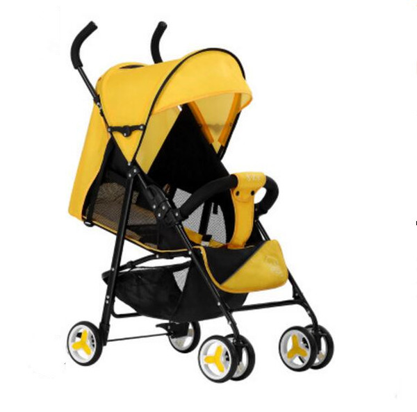 Baby stroller lightweight folding can sit lie baby stroller four seasons use child for age 0--3 years old