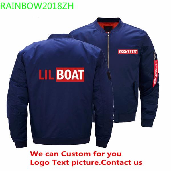 EUA tamanho lil bomba peep jaqueta esskeetit homens rap cantor hip hop mens jaquetas e casacos ropa hombre personalizado 5xl