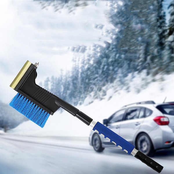 .car snow shovel winter auto vehicle snow ice scraper retractable window removal brush shovel removal brush winter tool new thumbnail