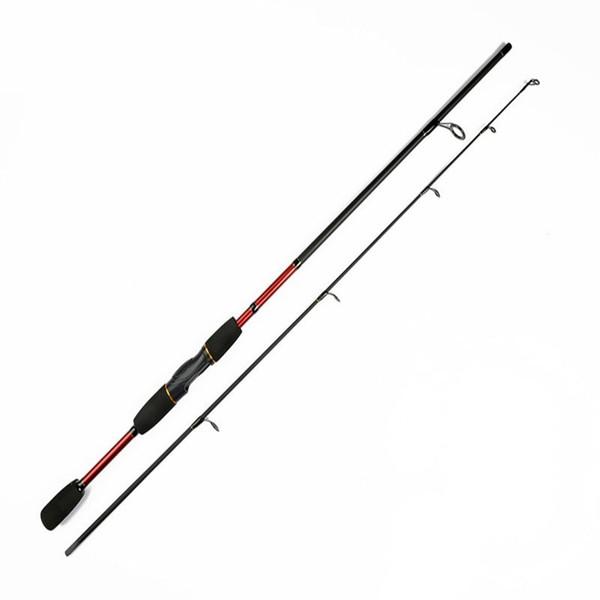 YUBOSHI travel ice casting fishing rod spinning combo carbon lure rod tip ul fishing carp actions 1.8 m hard weight LYG03