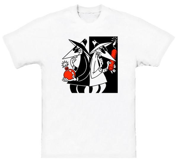 Spion gegen Spion-wütendes Zeitschriften-lustiges T-Shirt