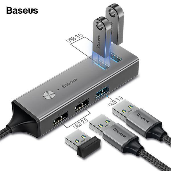 Multi USB C HUB vers USB 3.0 USB3. Séparateur HUB Baseus Type C pour Macbook Pro Air Adaptateur HAB HUB USB type C C-type