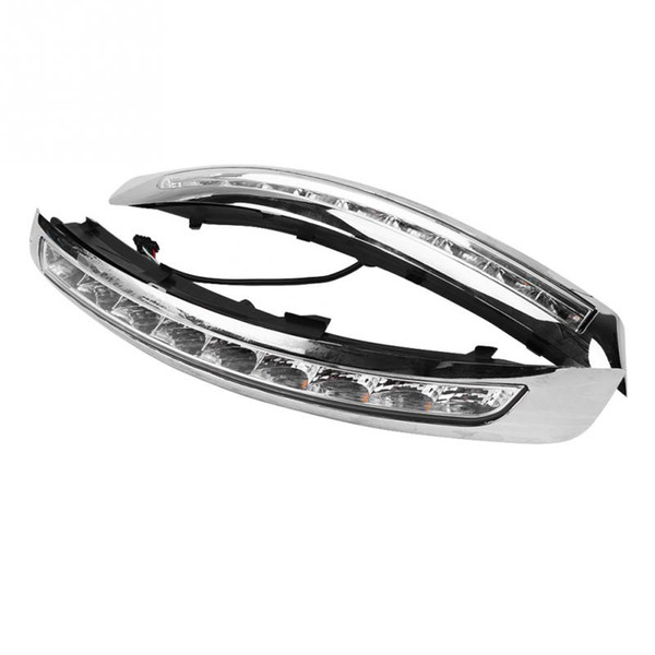 Car Daytime Running Light Turn Signal Dual Model DRL LED Lights for Vo-lvo XC90 07-13 Daytime Running Light