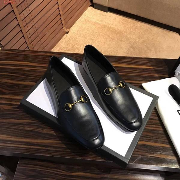 İyi Erkek Gerçek Deri Moda loafer'lar siyah Katır Ayakkabı Yüksek Kalite Makosenler Ayakkabı Horsebit Düz Jordaan Elbise Ayakkabı Ayakkabı kırmızı