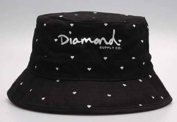 New 2019 Diamond Outdoor Bucket Hats for men women Summer Sun Fisherman Cap Camping Hunting Chapeau bob Bucket Hat Panama Beach Fishing Caps