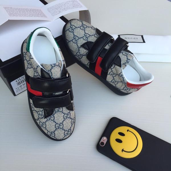 répliques vente la plus chaude à vendre Acheter Enfants Chaussures Enfants Baskets De Luxe Chaussure Pour Enfants  De La Mode 2018 Enfants Filles Garçons Chaussures Bébé Garçon Chaussures ...