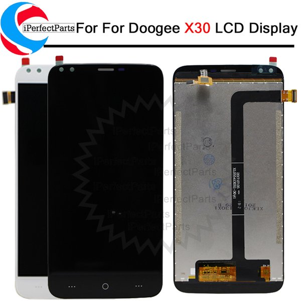 5.5 inch For Doogee X30 LCD Display+Touch Screen Assembly Repair Part Phone Accessories + tools For Doogee X30 Cellphone Part