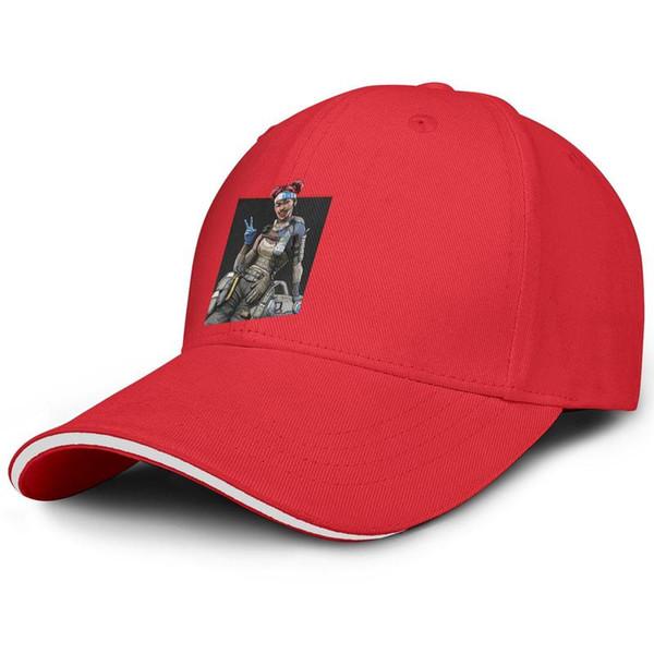Apex Legends LIFELINE Combat Medic Unisex Herren Mütze Damen Mütze Entworfene Baumwolle Snapback Flatbrim Running Hat Ball Caps für Frauen