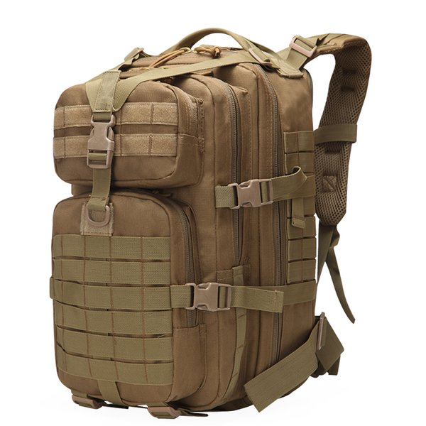 Tactical Backpack Large Army 3 Day Assault Pack Waterproof Molle Bug Out Bag Rucksacks Outdoor Hiking Camping Hunting