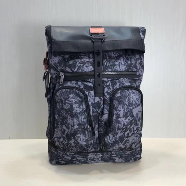 Новая 18-летняя весна Новая продукция Alpha Bravo Series Мужская баллистическая нейлоновый рюкзак 0232388D