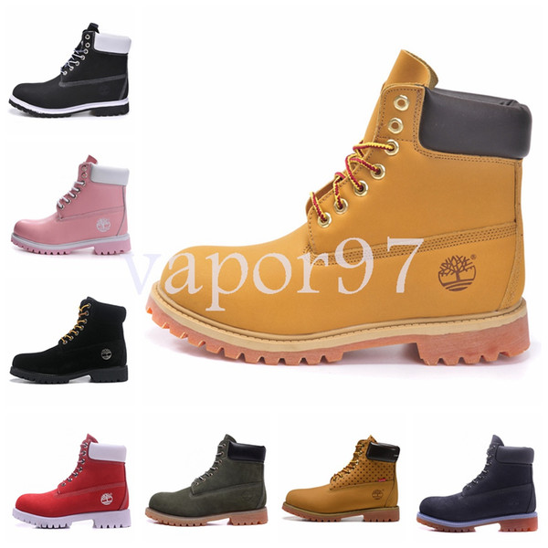 2019 fa hion de igner men luxury trainer wheat red black leather 6 inch ankle combat work winter ca ual hoe chau ure neaker