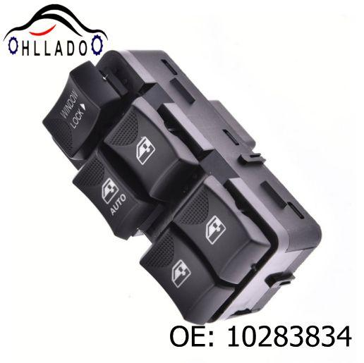 best selling HLLADO Car Power Window Switch 10283834 10413253 Master Door Switch For 2000-2005 B uick C hevrolet Impala LH driver side
