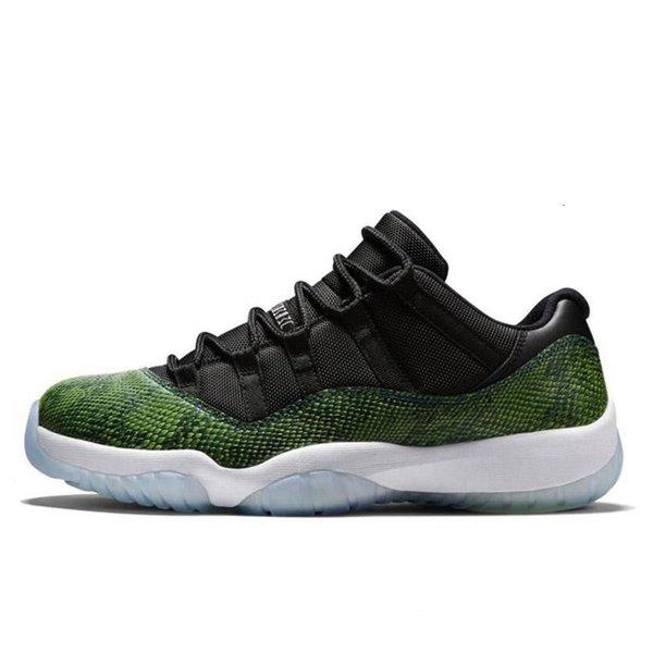 4 41-47 Green White Snakeskin
